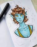 Fish Girl - 3 marker challange