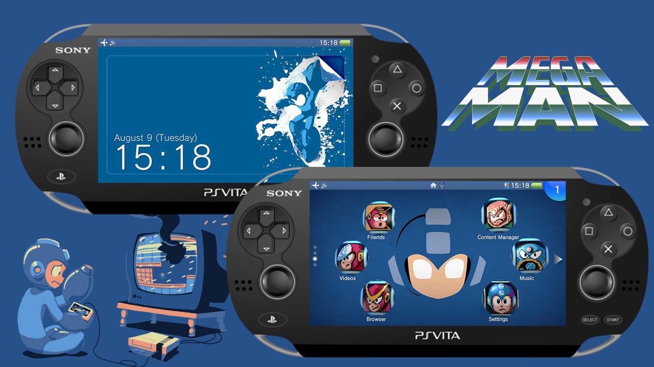 Megaman [PS Vita Custom Theme] by TrNxSLAYER