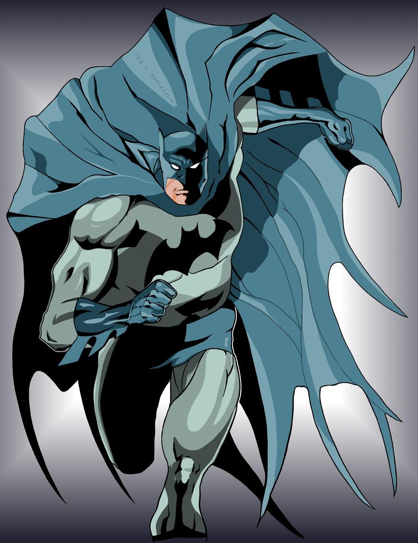 batman colors by mlh70