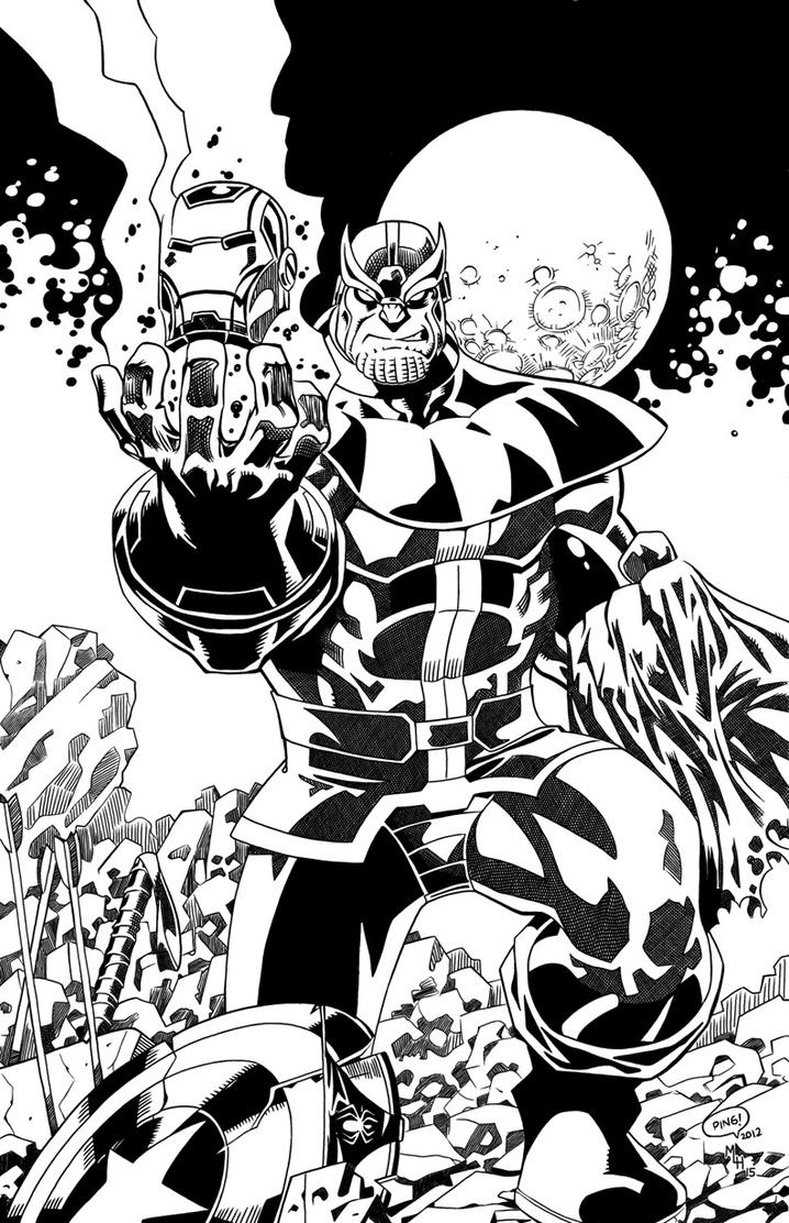 Thanos Avengrs by mlh70 on DeviantArt