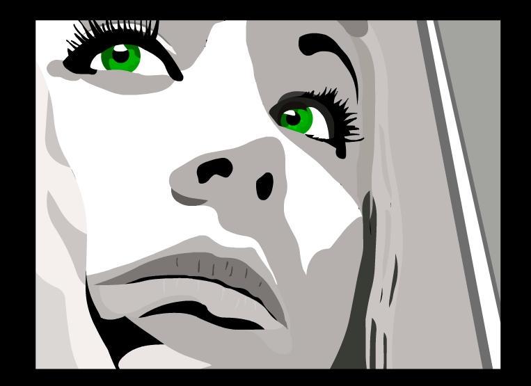 Green Eyes by Vectorinox