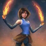 Korra the Avatar by silvanuszed