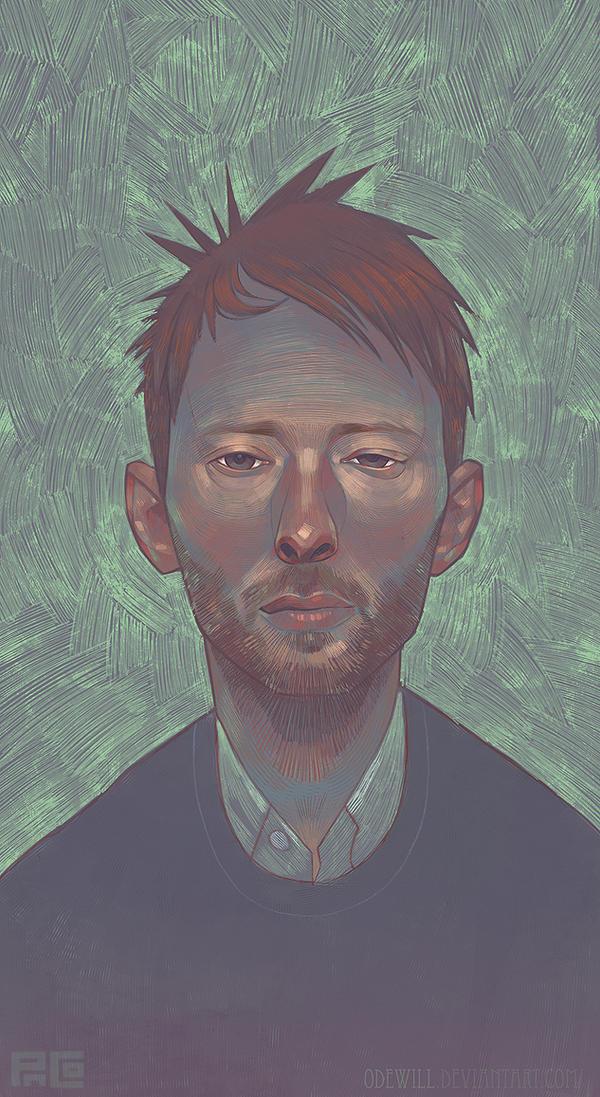 Thom Yorke Portrait by Odewill