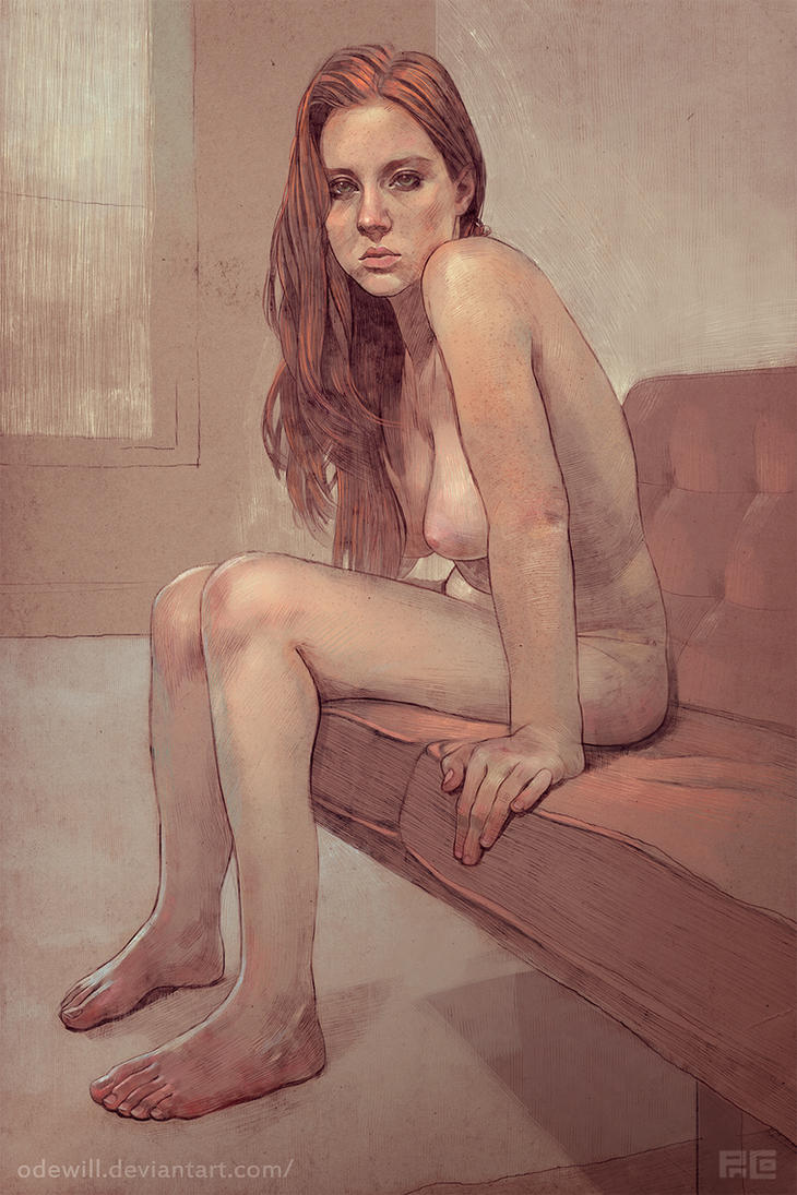 nude redhead portrait by odewill d48jkym Related tags: harry potter free online non downloadable sex games, ...