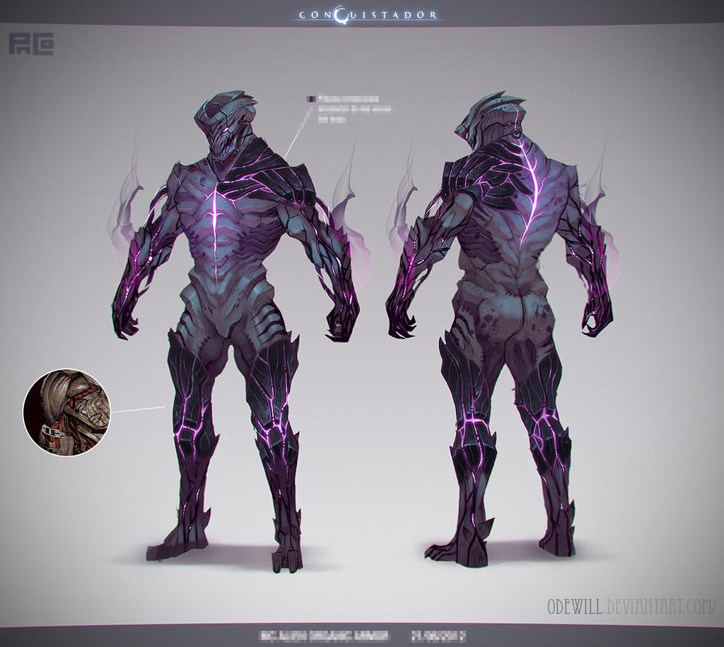 [Conquistador] MC Alien Suit by Odewill