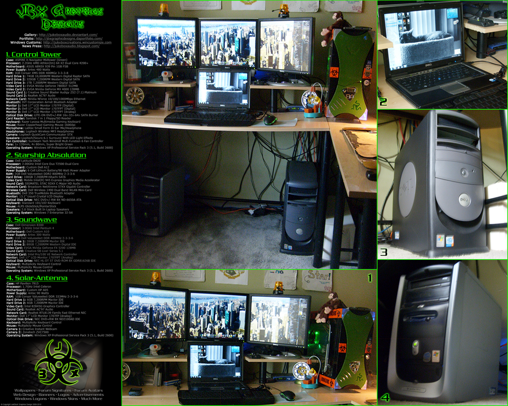 Desktop Layout 2009 by JukEboXAuDiO