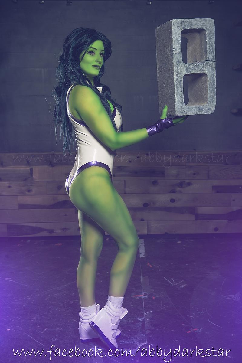 She-Hulk - Kotobukiya Version by AbbyDark-Star