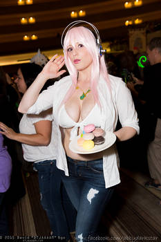 Super Sonico test at Dragon Con