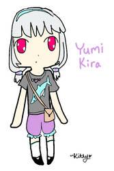 Yumi Kira by AskYowaneHaku-chan