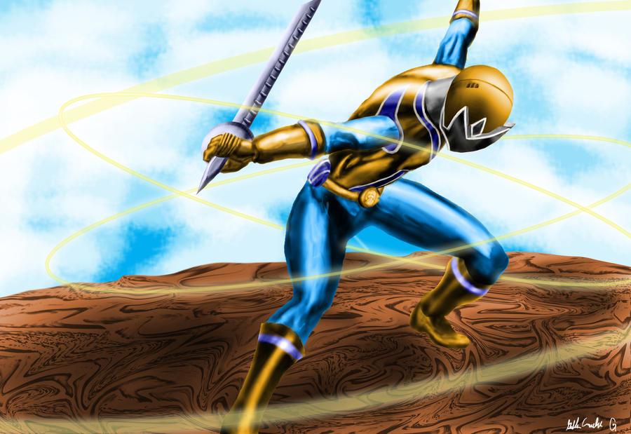 Gold Ranger by goldenmurals on DeviantArt