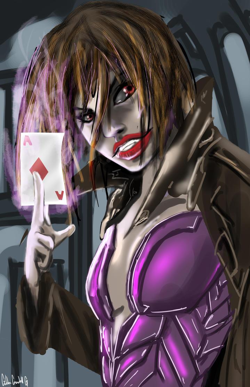 Girl Gambit by goldenmurals on DeviantArt