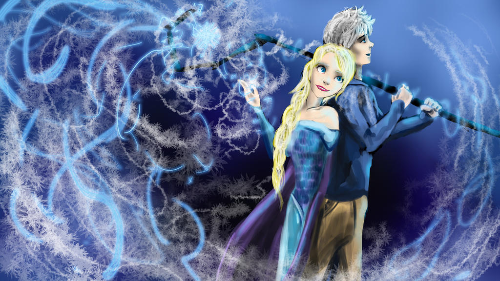 The Ice Couple by goldenmurals on DeviantArt