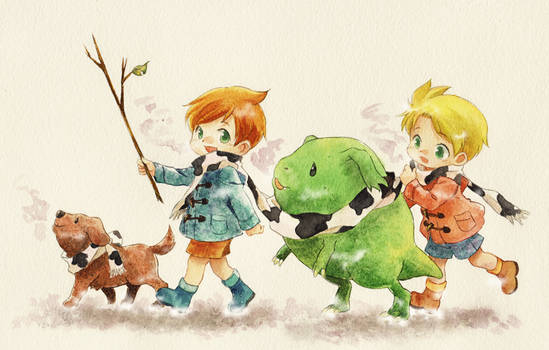 MOTHER3 Twins of the winter