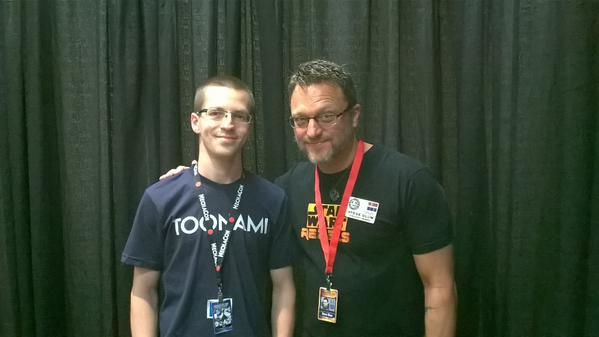 Me and Steve Blum by voicerocker