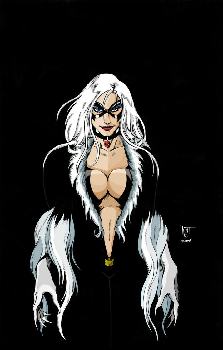 Black Cat (alt version) by scottcouper
