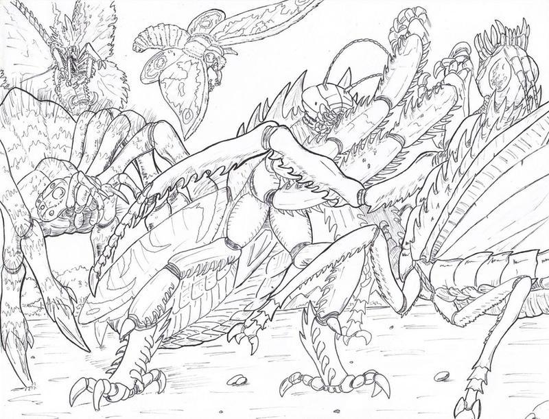 Image Result For Monster Mash Coloring