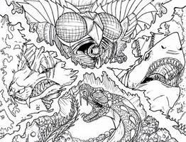 Kaiju Apocalypse by Deadpoolrus