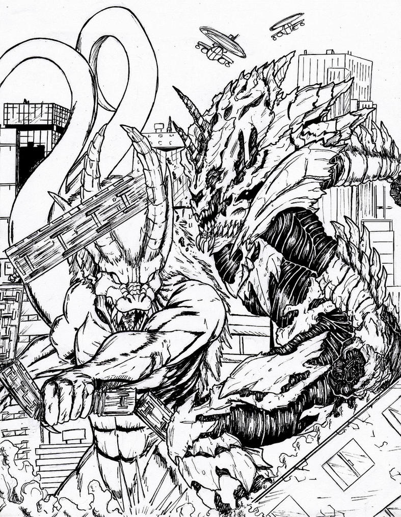 Image Result For Cthulhu Coloring Pages