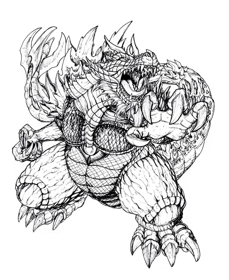 RDC Super Godzilla by Deadpoolrus