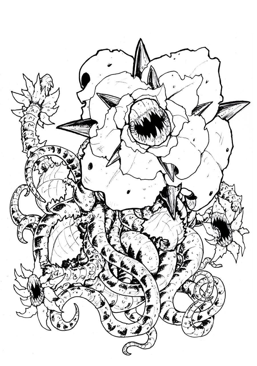 Haejizora: Line Art by Deadpoolrus