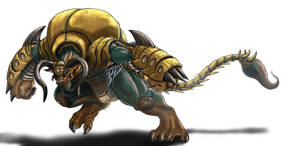 Cretaphus V2 by Deadpoolrus