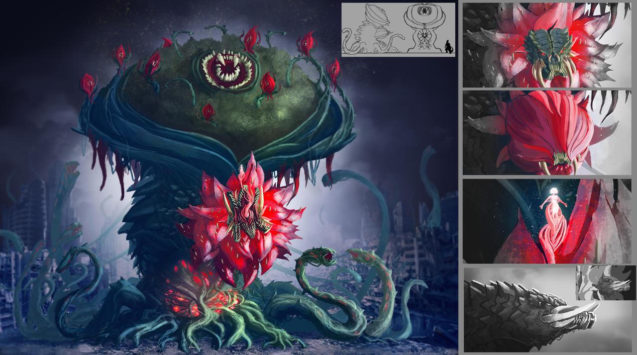 Biollante Erika Regailias by Deadpoolrus on DeviantArt