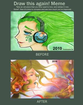 Draw this again! meme - Gaia's Colors