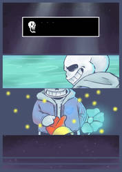 sans by RagingArtistCrow