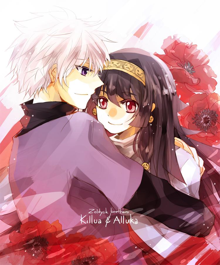 Alluka zoldyck and killua