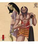 Yokai March: Oni and Hannya