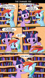 MLP The Damage Fee by LoCeri
