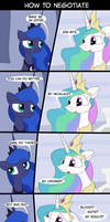 MLP How to Negotiate