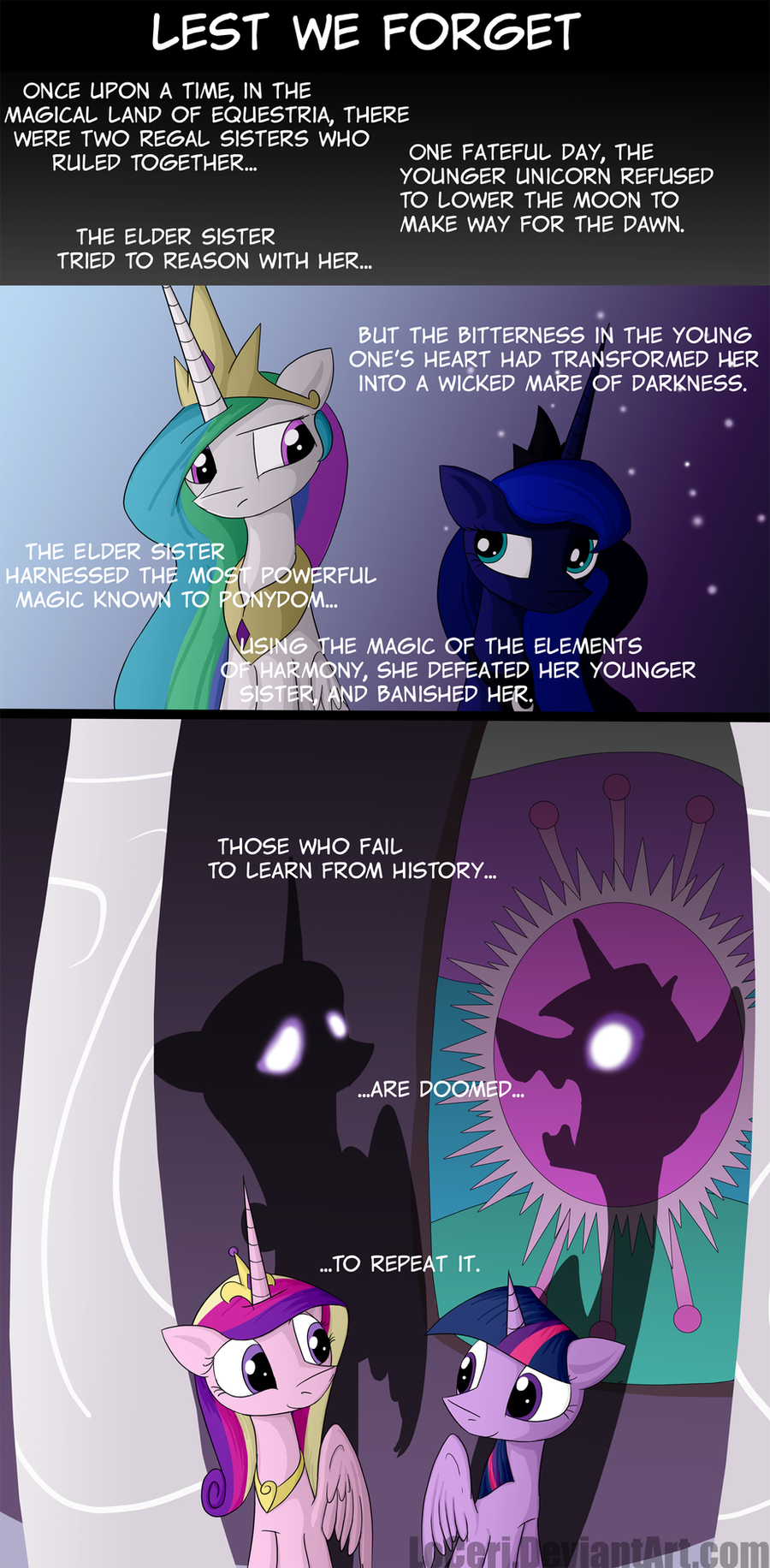 MLP Lest We Forget by LoCeri