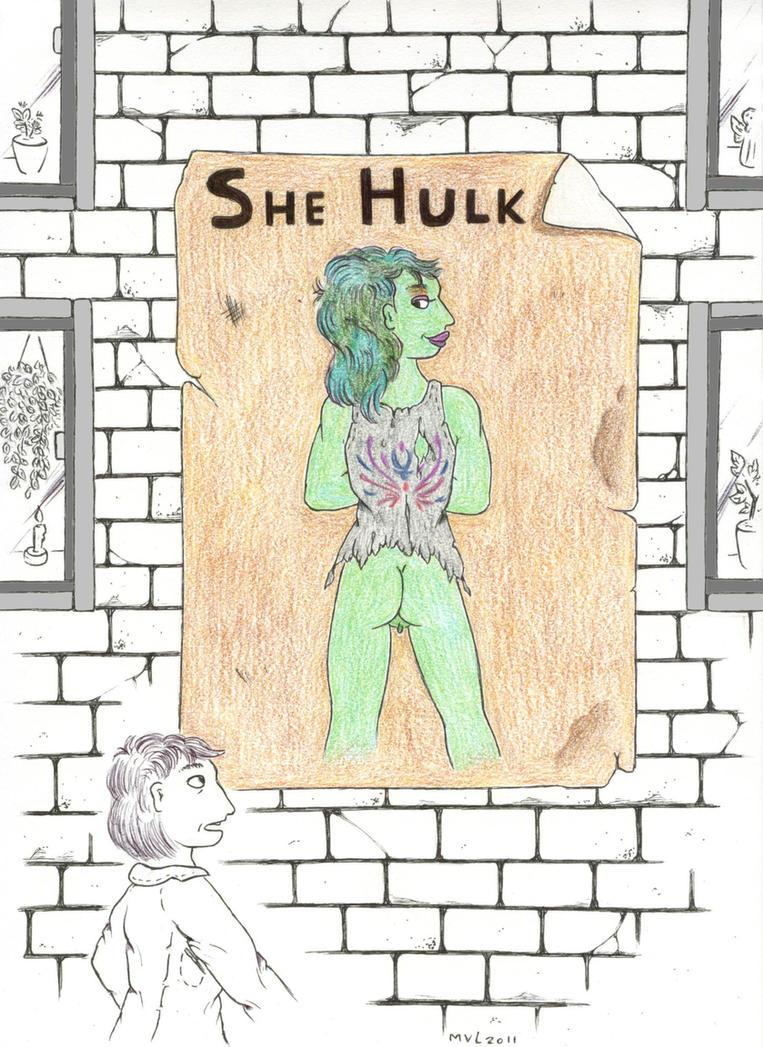 crosover she hulk. by Valgergo