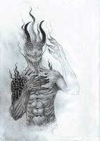 Nyarlathotep by ziridel