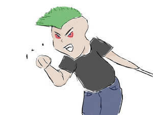 Angry Chibi Jason Carsur
