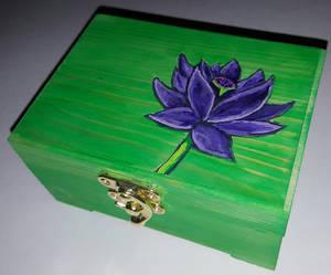 Black Lotus Dice Box