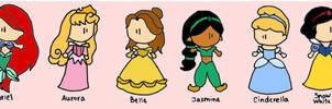 disney-princesses dolls