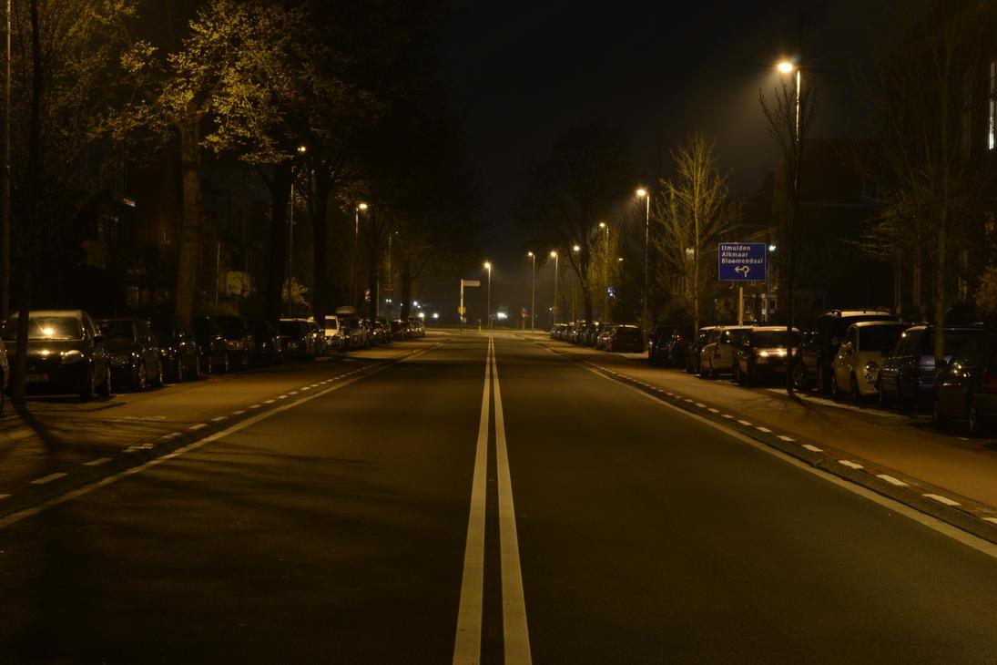city street corner at night - photo #15