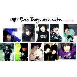 Emo guys are cute