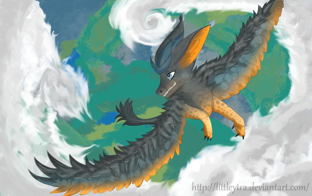 Triton Dragon by LittleYtra