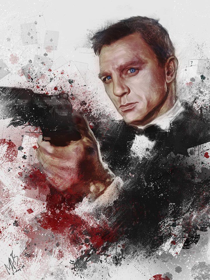 James Bond by Alexandra-Auditore