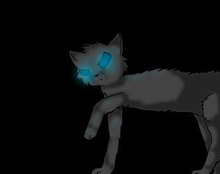 Cloudtail... Darkness by Romeh96