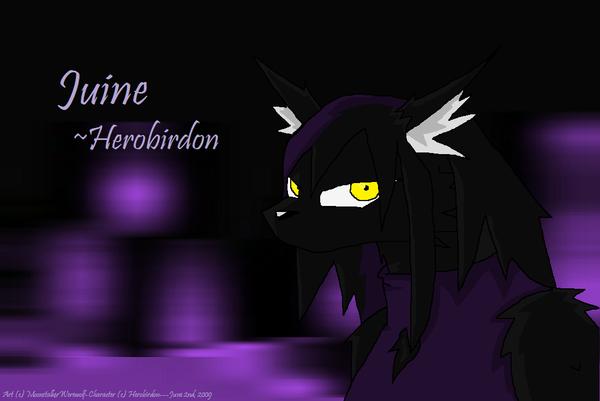 Juine Gift by MoonstalkerWerewolf