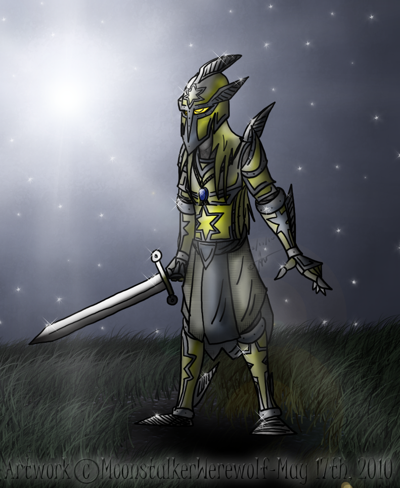 CE: Elladin Umaga by MoonstalkerWerewolf
