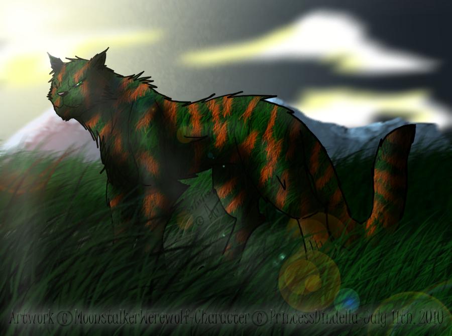 GIFTART: Vadivra by MoonstalkerWerewolf