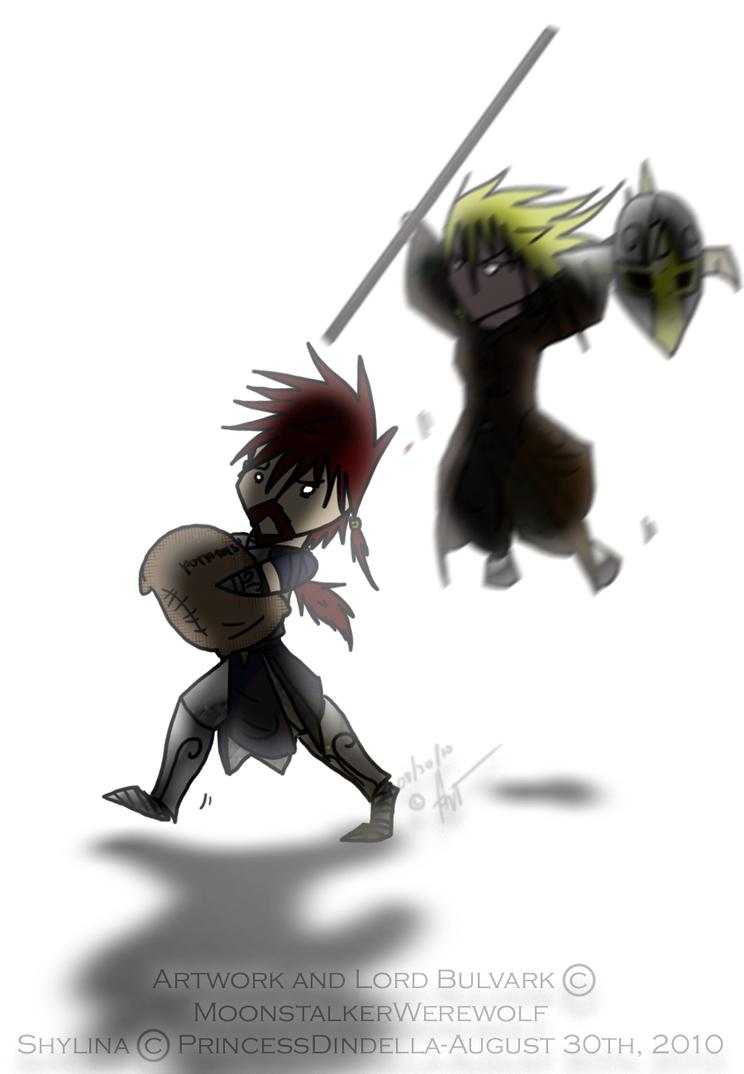 FS: Ninja Shylina by MoonstalkerWerewolf