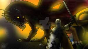 Beowulf's Last Fight