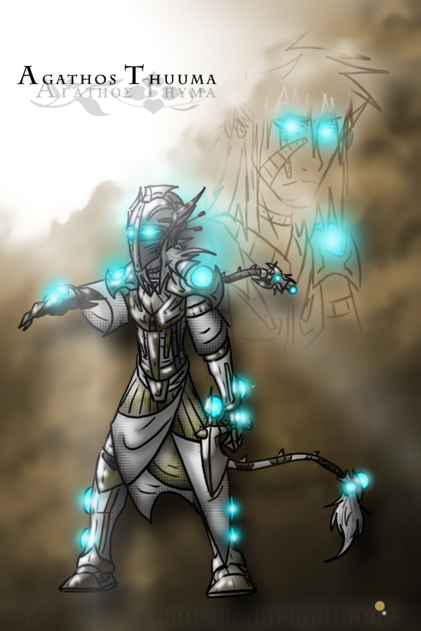 Agathos Thuuma by MoonstalkerWerewolf