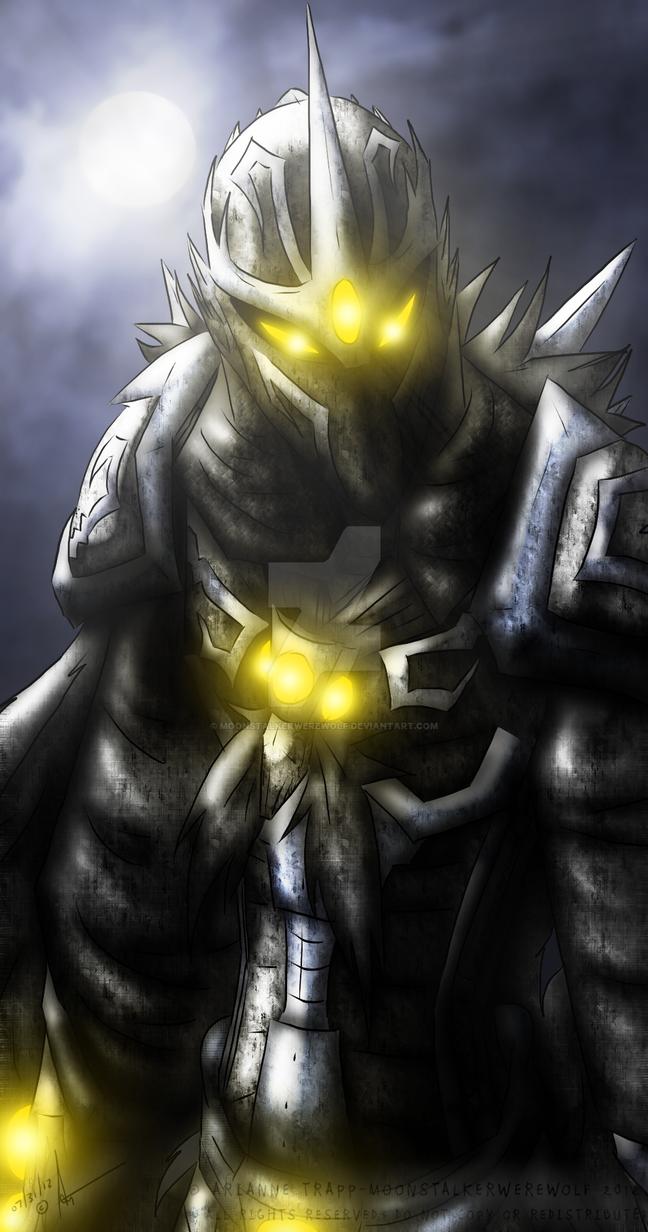 Warlord Gyruhk: Lord of Fear by MoonstalkerWerewolf